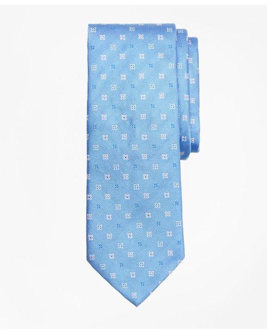 Brooks Brothers - Blue Four-petal Flower Tie for Men - Lyst