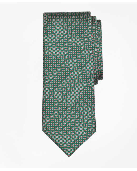 Brooks Brothers | Green Watermelon Motif Print Tie for Men | Lyst
