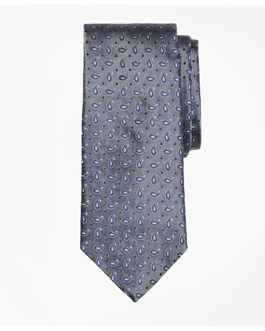 Brooks Brothers | Gray Pine Tie for Men | Lyst