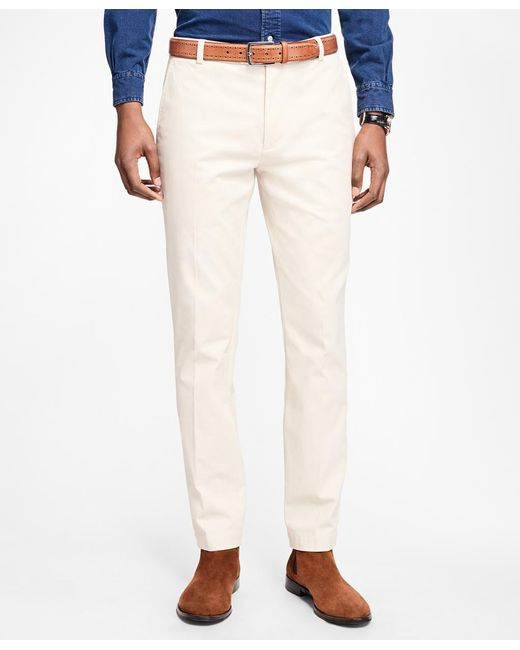 Brooks Brothers - Multicolor Milano Fit Supima® Cotton Stretch Chinos for Men - Lyst