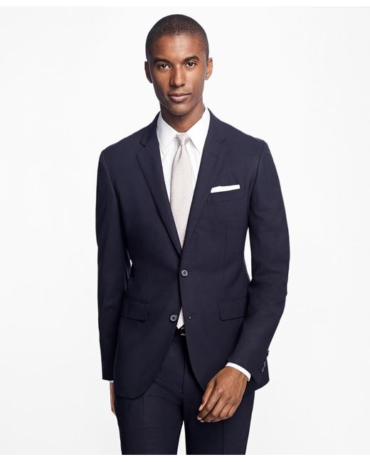 Brooks Brothers - Blue Milano Fit Double-breasted Stripe 1818 Suit for Men - Lyst