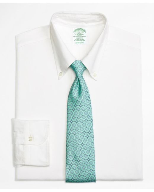 Brooks Brothers | White Milano Fit Original Polo® Button-down Oxford Dress Shirt for Men | Lyst