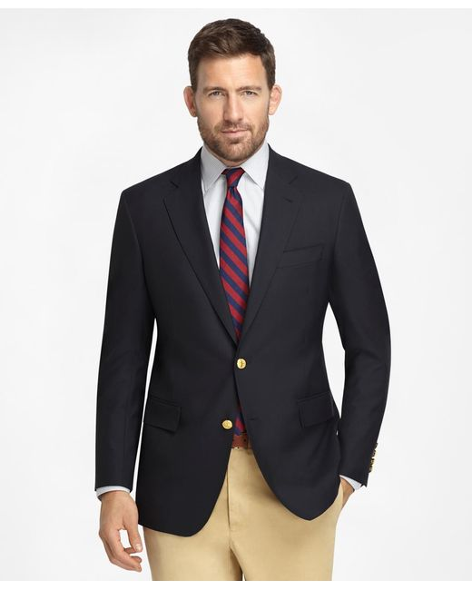 Brooks Brothers | Blue Regent Fit Two-button Classic 1818 Blazer for Men | Lyst