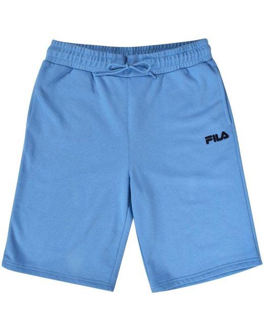 caaa4dd4e6c7e ... Fila - Blue Logo Shorts for Men - Lyst ...