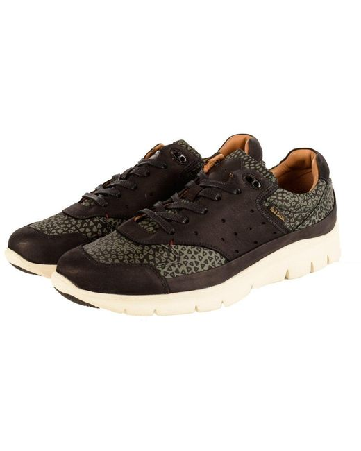 PS by Paul Smith - Paul Smith Black/green Leopard Print Trainers for Men - Lyst
