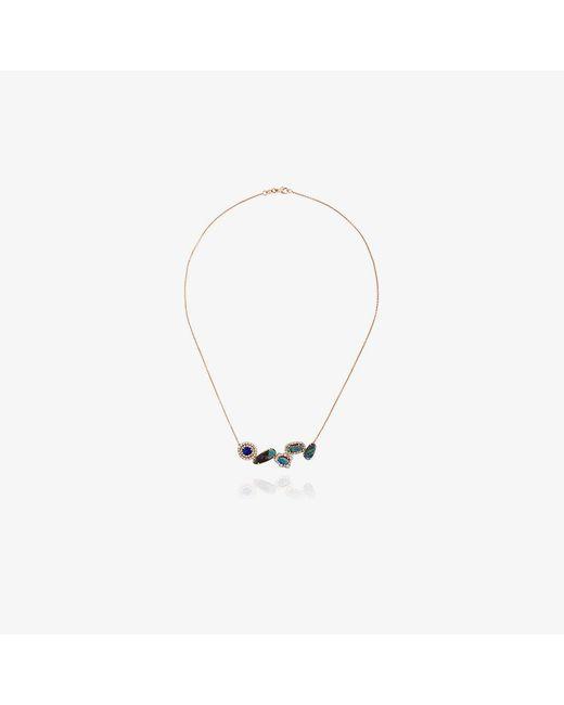 Kimberly Mcdonald   Metallic Baguette Stone Charm Necklace   Lyst