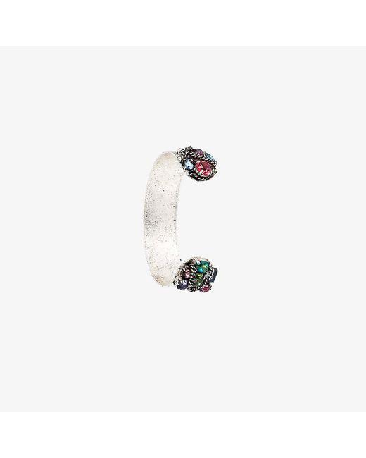 DANNIJO   Metallic Swarovski Crystal Adana Bracelet   Lyst