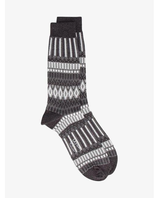 Ayamé - Black Lunch Patterned Socks - Lyst