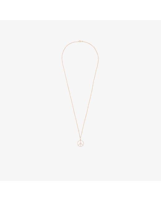 Rosa De La Cruz | Pink Peace Necklace | Lyst