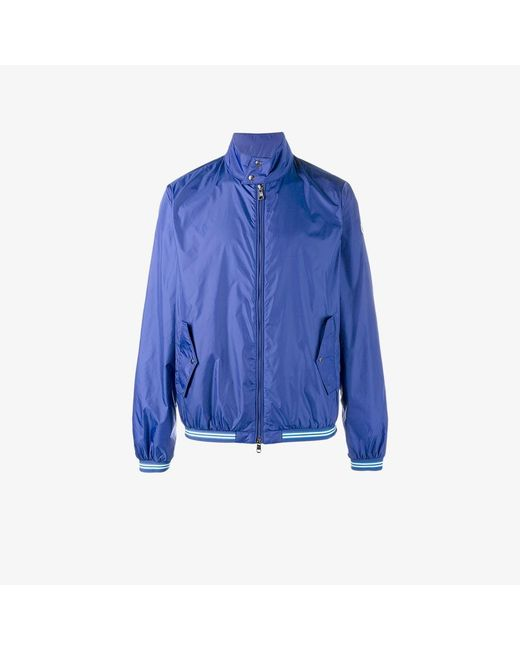 Moncler | Blue Lightweight Jacket for Men | Lyst