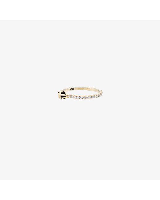 Marc Alary | Metallic Diamond Micro Snake Ring | Lyst