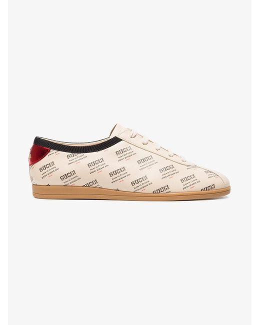 Gucci - Multicolor Falacer Invite Print Sneaker - Lyst