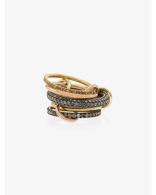 Spinelli Kilcollin - Metallic Nexus Ring - Lyst