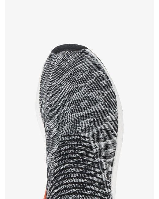 502567c41b935 adidas NMD CS2 Primeknit Red Glitch Harvest Retro Shoes