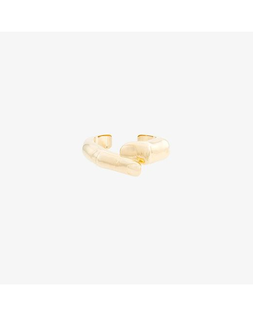 Y. Project | Metallic Finger-shaped Chunky Cuff | Lyst