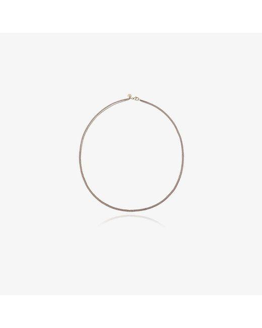 Rosa De La Cruz | Metallic Tri-colour Necklace | Lyst