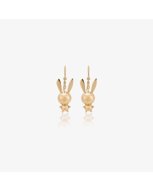 Natasha Zinko diamond bunny earring - Metallic vyW3qwIzUP