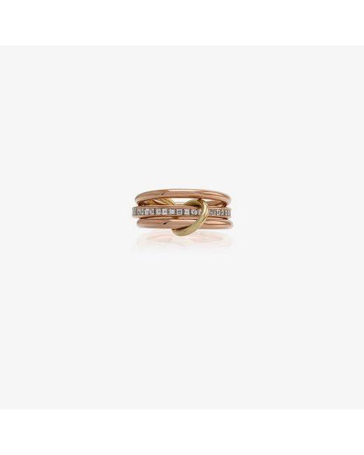 Spinelli Kilcollin - Metallic 18k Rose Gold Diamond Ring - Lyst