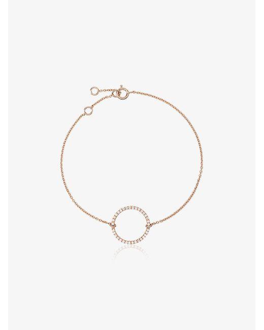 Rosa De La Cruz - Metallic 18k Rose Gold Eternity Diamond Bracelet - Lyst