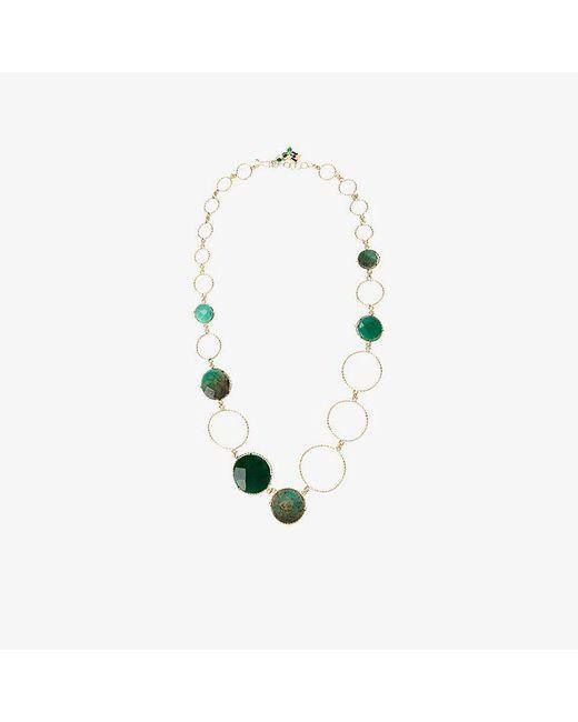 Rosantica - Metallic Raggio Circle Necklace - Lyst