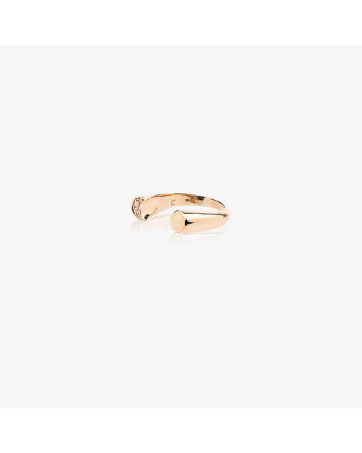 Pamela Love - Metallic Diamond And Opal Luna Ring - Lyst