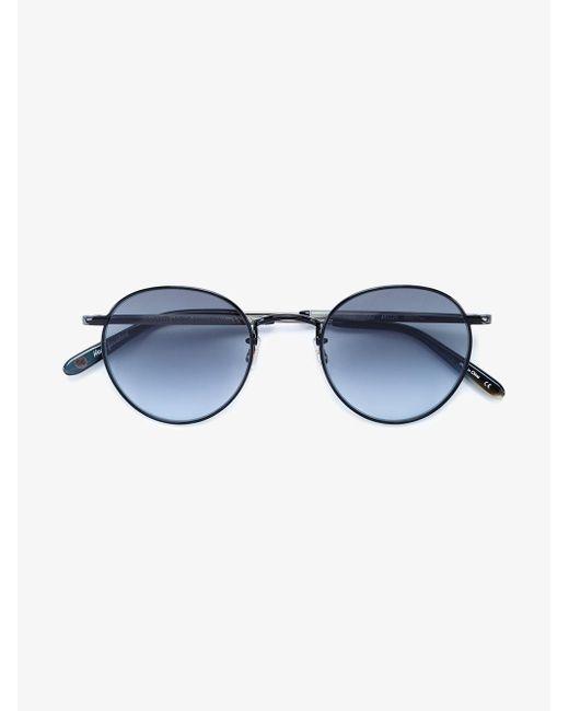 Garrett Leight   Black Van Buren Combo 46 Sunglasses   Lyst