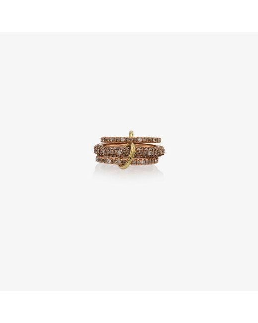 Spinelli Kilcollin - Metallic Rose Gold Nova Diamond Ring - Lyst