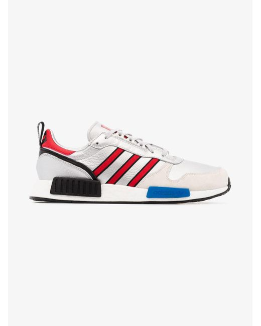 6bbf5274a3a999 ... Adidas - Metallic Never Made Multicoloured Rising Star R1 Leather  Sneakers for Men - Lyst ...
