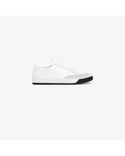 Common Projects - White Tennis Pro Low-top Sneakers - Lyst