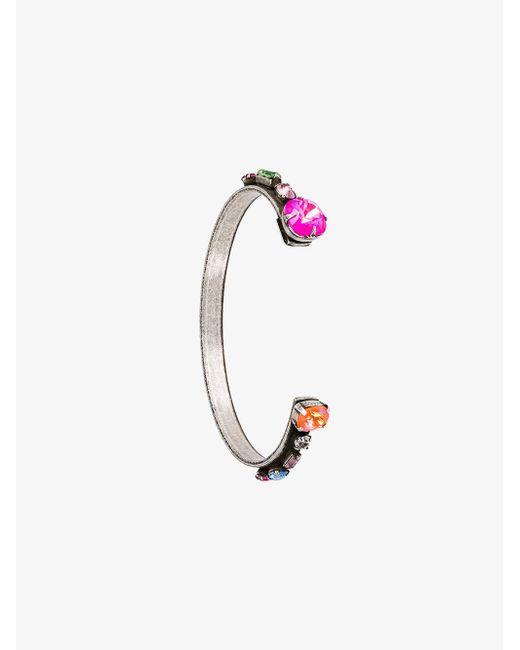 DANNIJO - Metallic Swarovski Crystal Laniyan Bracelet - Lyst