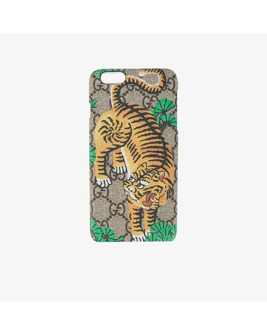 Gucci | Multicolor Bengal Tiger Iphone 6+ Case | Lyst