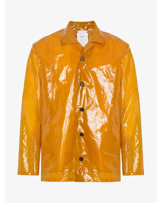 Jil Sander - Multicolor Plastic Raincoat for Men - Lyst