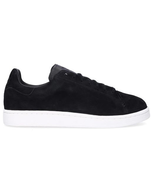 aefd2d7aeb Y-3 - Black Low Top Trainers for Men - Lyst ...
