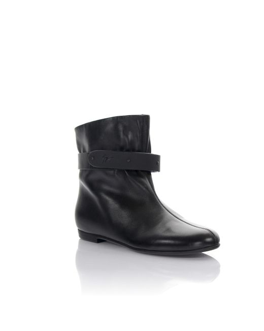 Giuseppe Zanotti - Ankle Boots Balet Beta 05 Nappa Leather Black - Lyst