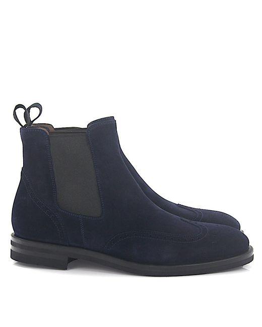 Henderson - Blue Chelsea Boots for Men - Lyst