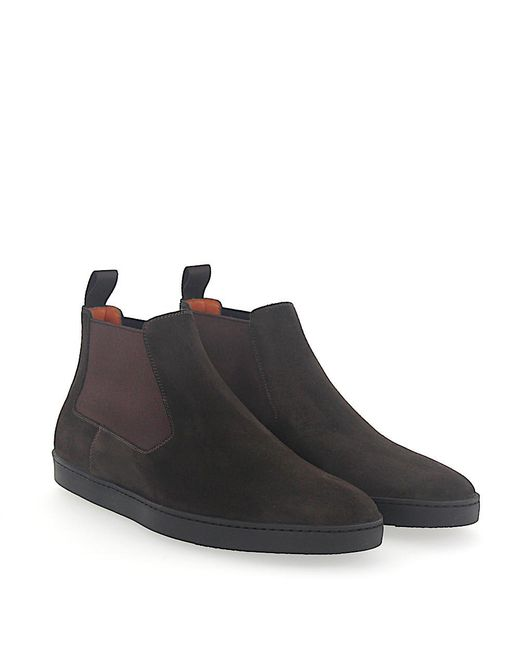 Santoni - Brown Boots for Men - Lyst