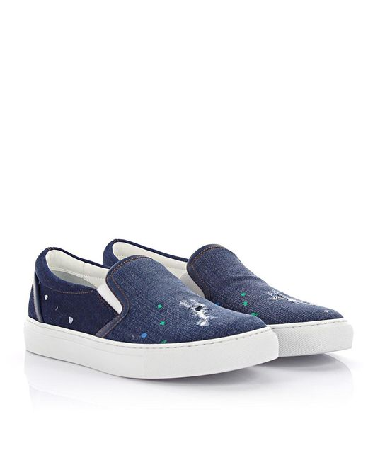 Dsquared2 Slip-on Sneaker Essential Jeans Yjs5d5