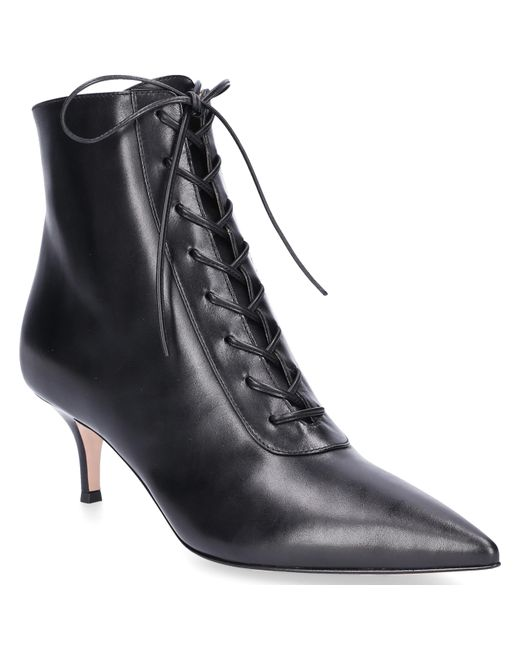 Gianvito Rossi - Pumps Gillian Smooth Leather Black - Lyst