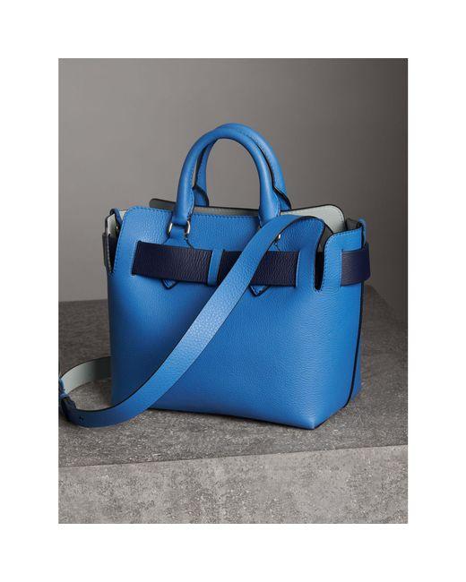 Ralph Lauren Pas Le Petit Sac De Ceinture En Cuir, Bleu