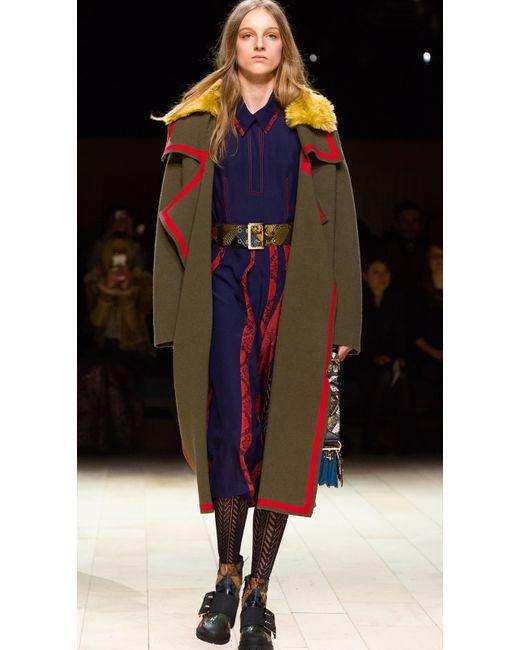 Burberry Wool Cashmere Knit Cardigan Coat 17