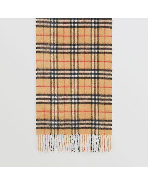 ... Burberry - Multicolor Écharpe classique en cachemire à motif Vintage  check for Men - Lyst ... 6a11e7f0d63