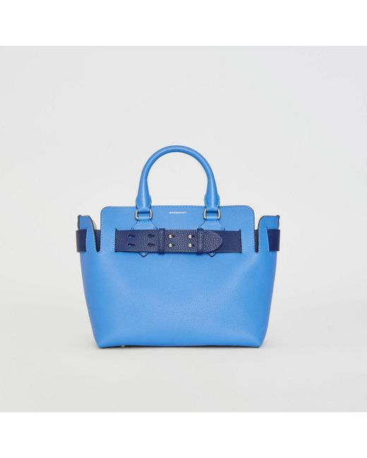 53c8810c47 Burberry - Blue The Small Leather Belt Bag - Lyst ...
