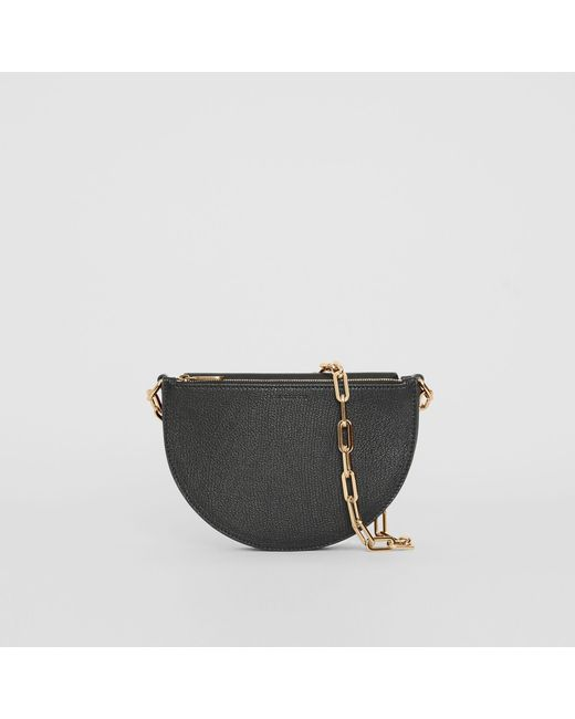 fac261754ebc Burberry - Black The Small Leather D Bag - Lyst ...