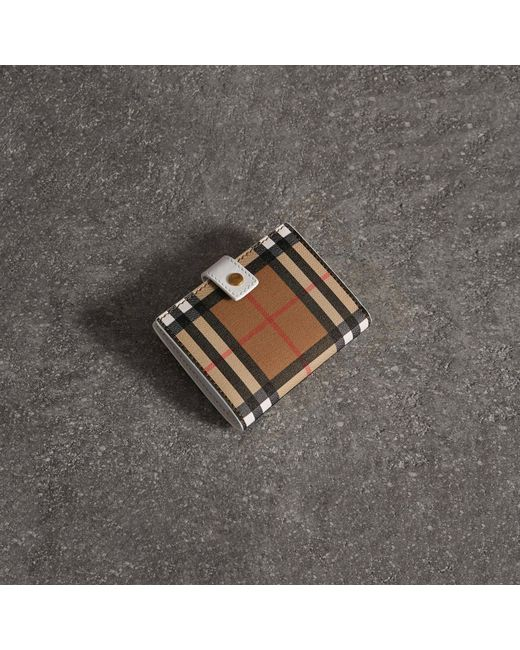 Vintage Check and Leather Coin Case - Multicolour Burberry UvV4BzCeUO