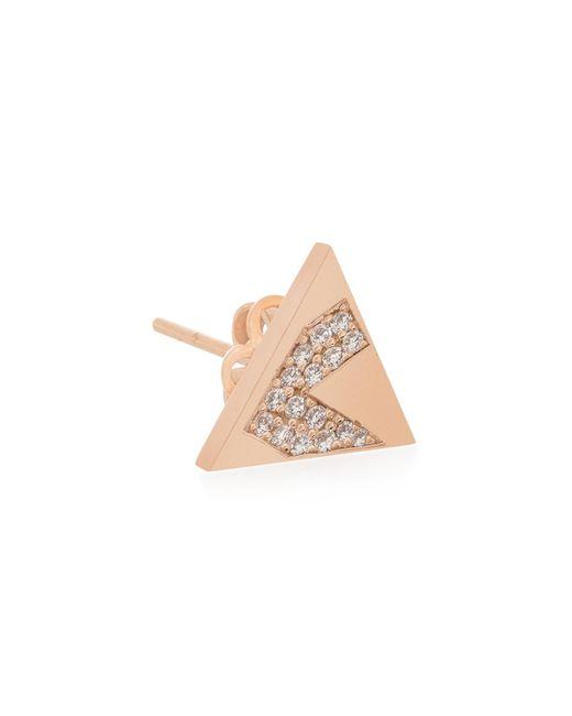 Shamsa Alabbar | Multicolor Tricrop Kaf Earring With Diamonds | Lyst