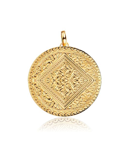 Monica Vinader | Metallic Marie Mini Disc Pendant | Lyst