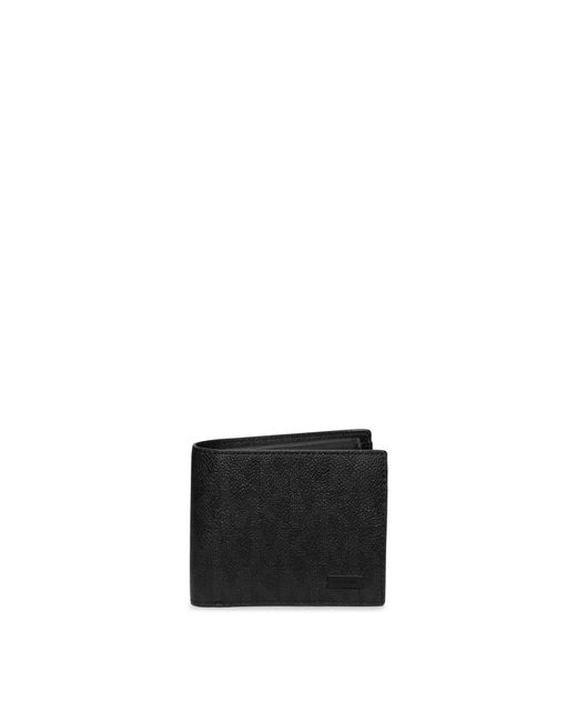 Michael Kors | Black Jet Set Coin-pocket Billfold Wallet for Men | Lyst