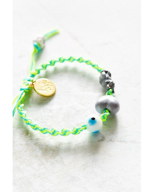 Venessa Arizaga | Green I Love Cats Bracelet | Lyst