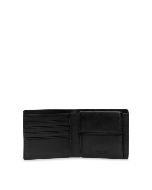 Michael Kors | Black Jet Set Coin-pocket Billfold Wallet for Men | Lyst