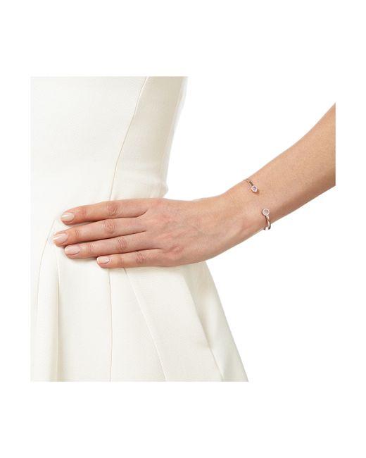 Monica Vinader | Metallic Naida Thin Cuff | Lyst